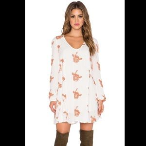Free People Women's Embroidered Austin Dress